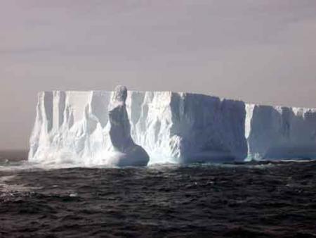 Un centenar de icebergs se acercan peligrosamente a Nueva Zelanda